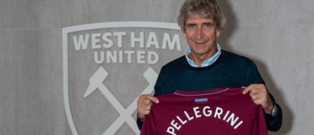 Manuel Pellegrini este noul antrenor al echipei West Ham United