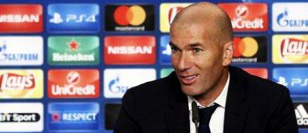Zinedine Zidane: Sunt la odihnă, deocamdată, şi nu ştiu ce voi face