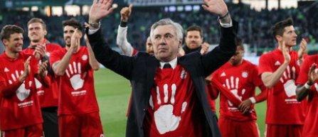 Ancelotti, primul antrenor care a câștigat patru din cele cinci mari campionate europene