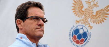 Fabio Capello si-a reziliat contractul de selectioner al Rusiei