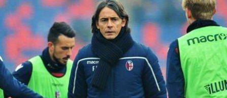 Filippo Inzaghi, demis din postul de antrenor al echipei Bologna