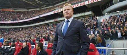Ronald Koeman este noul selecţioner al Olandei