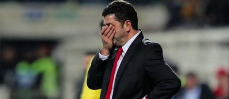 Benfica Lisabona l-a demis pe antrenorul Rui Vitória