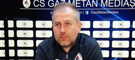 Edward Iordănescu şi-a reziliat contractul cu Gaz Metan Mediaş