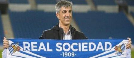 Real Sociedad a anunţat despărţirea de tehnicianul Asier Garitano şi numirea lui Imanol Alguacil