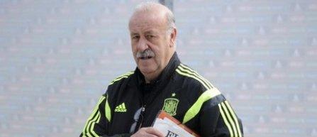 Del Bosque pune moralul echipei deasupra tacticilor de joc