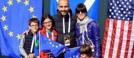 Soția și fiicele lui Guardiola au asistat la concertul de la Manchester