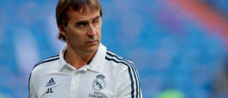 Real Madrid l-a demis pe antrenorul Julen Lopetegui