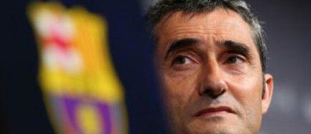 """Ernesto Valverde promite să """"revizuiască"""" stilul de joc al Barçei"""