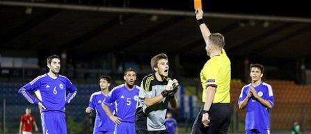 Estonianul Eiko Saar va arbitra partida de tineret dintre Luxemburg si Romania