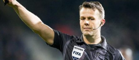 Björn Kuipers va arbitra meciul Juventus Torino - AS Monaco, din semifinalele Ligii Campionilor