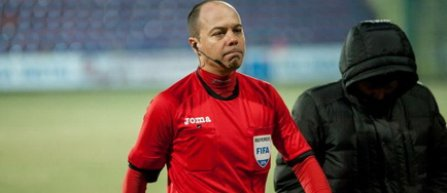 Marius Avram va arbitra meciul FC Voluntari - CS Universitatea Craiova, din returul semifinalelor Cupei României
