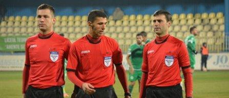 Marcel Bârsan va arbitra partida FC Viitorul - Astra Giurgiu, ultima din sferturile de finală ale Cupei României