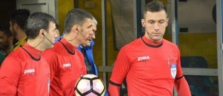 Marcel Bârsan va arbitra meciul ASA Târgu-Mureş - FC Voluntari