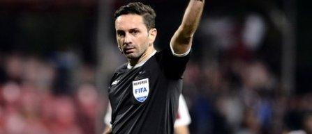 Sebastian Colţescu va arbitra meciul Concordia Chiajna - CSM Politehnica Iaşi, din play-out-ul Ligii 1