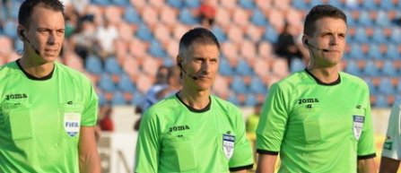 Adrian Comanescu va arbitra meciul CSM Politehnica Iasi - Astra Giurgiu, de joi, din Liga 1