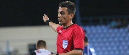 Horaţiu Feşnic va arbitra meciul CS Universitatea Craiova - FC Voluntari, din turul semifinalelor Cupei României