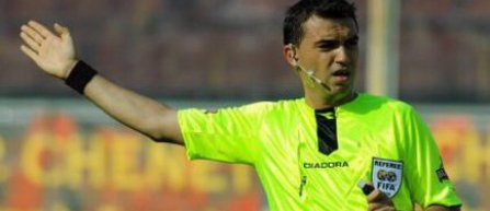 Ovidiu Haţegan va arbitra meciul Inter Milano - Eintracht Frankfurt, din Europa League