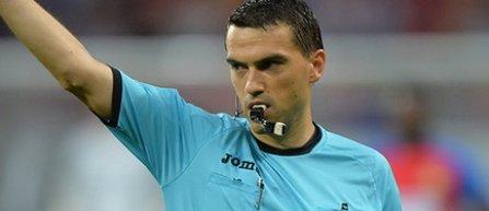 Ovidiu Haţegan va arbitra meciul ŢSKA Moscova - Real Madrid, din Liga Campionilor