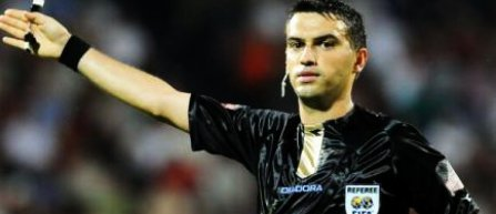 Ovidiu Hațegan va arbitra o semifinală de Europa League