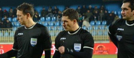 István Kovács arbitrează finala Cupei României dintre Astra Giurgiu şi FC Voluntari