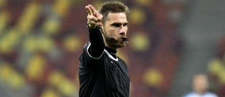 Alexandru Tudor va arbitra meciul Astra - Steaua, din play-off-ul Ligii 1