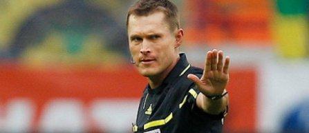 Meciul Serbia - România va fi arbitrat de rusul Vladislav Bezborodov