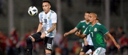 Amical: Argentina - Mexic 2-0