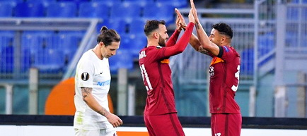 Europa League, Grupa A: AS Roma - CFR Cluj 5-0