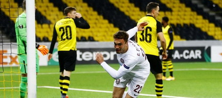 Europa League, Grupa A: Young Boys Berna - CFR Cluj 2-1