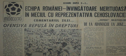 Remember Romania - Cehoslovacia 1970