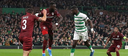 Europa League - Grupa E: Celtic Glasgow - CFR Cluj 2-0