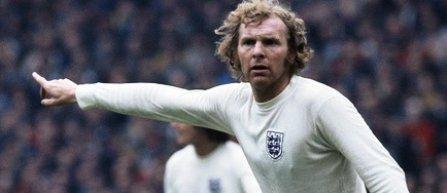 Bobby Moore, votat cea mai mare personalitate sportivă britanică din toate timpurile