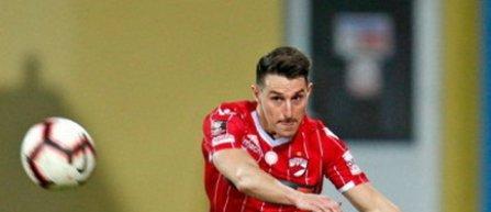 FC Dinamo anunţă încheierea raporturilor contractuale cu fundaşul stânga englez Jordan Mustoe