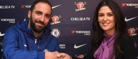 Gonzalo Higuaín a fost împrumutat la Chelsea pentru şase luni