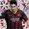 Un tablou al fotbalistului Lionel Messi, realizat de Murakami, la licitatie la Sotheby's (video)