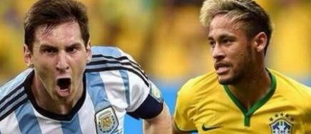 Nationalele Braziliei si Argentinei vor disputa un meci amical in Australia