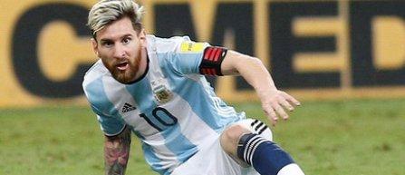 Lionel Messi, suspendat patru meciuri cu naționala Argentinei