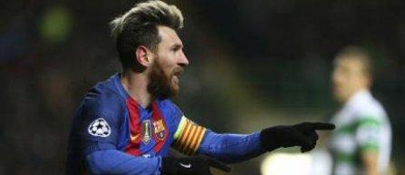 Messi a ajuns la 100 de goluri internationale marcate pentru FC Barcelona