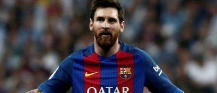 Lionel Messi a câştigat Gheata de Aur a Europei pentru a patra oară în carieră