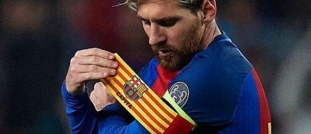 Lionel Messi, noul căpitan al Barçei