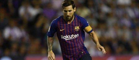 Lionel Messi, indisponibil trei săptămâni după o fractură la braţ