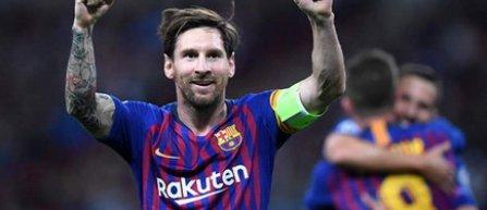 Lionel Messi a ajuns la 105 goluri marcate în Liga Campionilor
