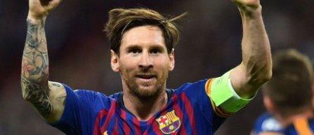 Messi, pe locul secund, după Pele, în clasamentul all-time al marcatorilor pentru un singur club