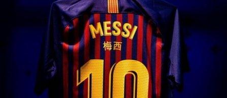 Jucătorii FC Barcelona vor purta tricouri cu numele inscripţionate în chineză