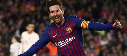 Lionel Messi, lider solitar în clasamentul golgheterilor
