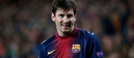 Messi, in lotul Barcelonei pentru meciul cu Bayern