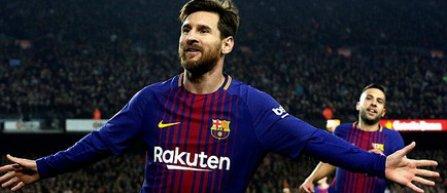 Messi a marcat golul cu numărul 4.000 pentru FC Barcelona pe Camp Nou