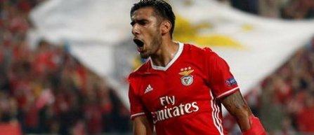 Eduardo Salvio şi-a prelungit contractul cu Benfica până în 2020