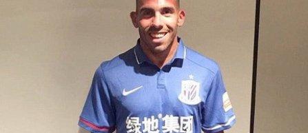 Carlos Tevez a semnat cu Shanghai Shenhua. Argentinianul va avea un salariu anual de 20 de milioane de euro
